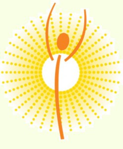 Sonnig lebendig, kraftvoll und gesund